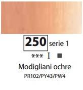Sennelier Artists Oils - Modigliani Ochre S1