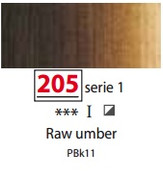 Sennelier Artists Oils - Raw Umber S1