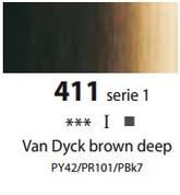 Sennelier Artists Oils - Van Dyck Brown Deep S1