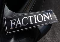 FACTION! New Jersey Drift Club - Team Sticker