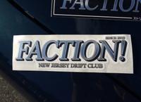 FACTION! New Jersey Drift Club - Die Cut