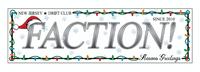 FACTION! New Jersey Drift Club - Season's Greetings Sticker