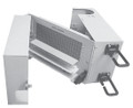 24050-110-M110PC 50 Pair BET with Tri-Fold splice chamber; 110 termination in / out; with 230V Gas Tube protectors