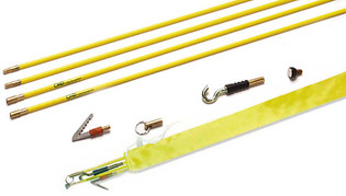 20' Push Pull Rod Kit with 5 Accessory Tips