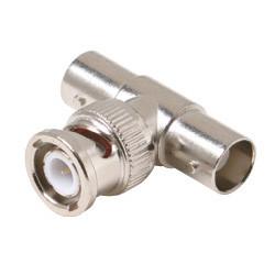 BNC Tee Adapter Jack Plug Jack