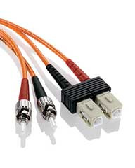 SC-ST Duplex Multi Mode 62.5/125 Fiber Optic Patch Cable