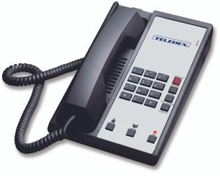 Teledex Diamond+3 Hotel Hospitality Telephone Black DIA657391