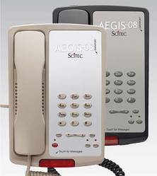 Scitec Aegis Single Line Speakerphone PS Ash 80011