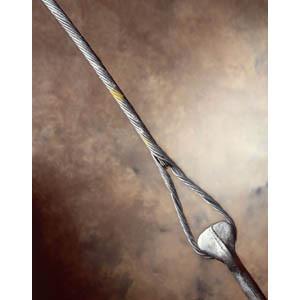 GDE1106 Guy Grip Dead End 5/16 inch x 31 inch B Coat Black