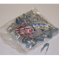 RE6 Drop Wire Clip, Type E, 6 Pair