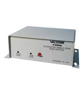 Valcom V2000A 1 Zone Paging Controller