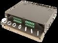 "FRM-2RU-4X-TS 2 RU 4 Termination Panel 19"" or 23"" Rack Mount Fiber Distribution LIU"