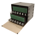 "FRM-8.5RU-24X-TS is an 8.5 RU 19"" or 23"" Rack Mount Fiber Distribution Unit LIU"