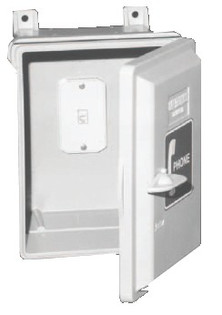 All Weather Outdoor Wall Mount Telephone Enclosure