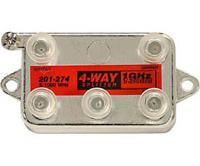 4-way 1Ghz 130dB F Splitter