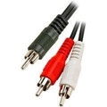 "255-020 6"" 2 RCA Plugs to RCA Plug Y Cable"