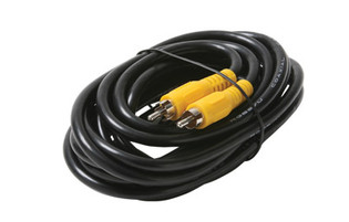 12' RCA Plug to RCA Plug RG59 Composite Video Patch Cable