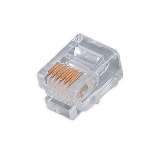 300-066 Modular Line Cord Plug 6P6C