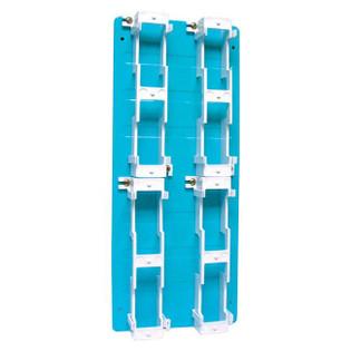 1/2 Blue Metal Backboard with (4) 89 Brackets R183A1