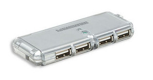 4 Port Hi-Speed USB Pocket Hub 160599