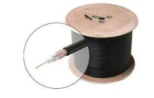 RG59 Coaxial Cable 60% Braid Copper Clad 1000'