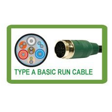 25' Easy Pull Retrofit Audio Video Cable