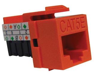 MIG Premier Keystone Category 5E Data Jack Cat5e