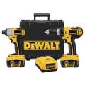 DeWalt DCK274L 18-Volt Cordless Lithium Ion Hammerdrill / Impact Driver Combo Kit