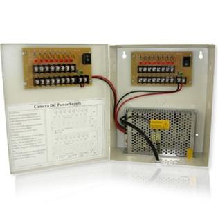 16 Channel CCTV Power Distribution Box 12VDC 10 Amp