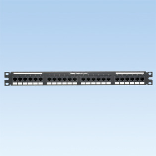 Panduit DP246X88TGY 24 Port Category 6A Patch Panel