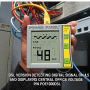 POE1000DSL Byte Brothers Power Panel POE Tester Digital VoltMeter DSL Version