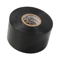 Telephone Tape 1-1/2 Inch x 44 Ft Vinyl Plastic Black