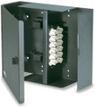 WFE2-B 2 Panel Wall Mount Optical Fiber Enclosure with Access Door