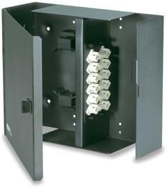 WFE2-B 2 Panel Wall Mount Optical Fiber Enclosure with Access Door