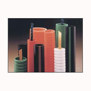 "560-001 1"" Corrugated PVC Innerduct with Tape Orange"