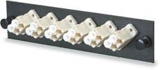 UFE-B-06LC 6 Fiber LC MM Adapter Panel