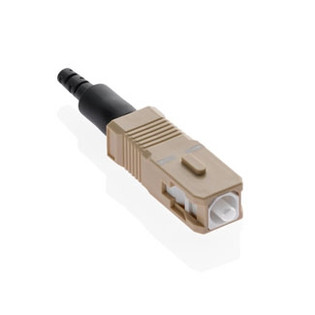 49991-MSC FastCAM Pre-polished Connector, SC (beige), 62.5/125um Multimode