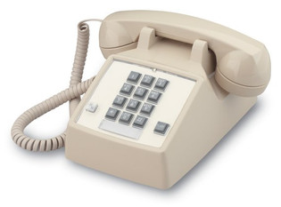 250044-VBA-27F Cortelco Traditional Desk Phone with Flash and Message Waiting