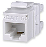 KJ458MT-C6C-WH Signamax MT-Series Category 6 High Density Keystone Jack
