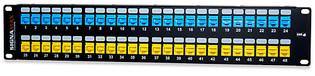 48U-HDMMP-C6 24 Port Category 6 Field-Configurable Patch Panel