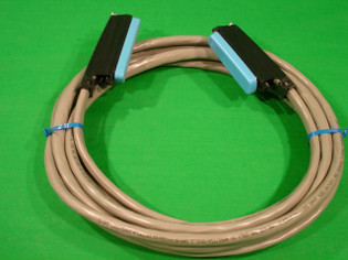 Telco Amphenol 25 Pair 50 Pin Patch Cord Male to Male