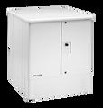 SmartPed 3000-FNC, Gray, Power Supply Shelf, Battery Tray & Fiber Slack Storage Hooks