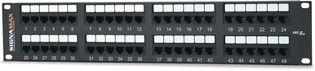 Signamax 48 Port Category 5E Patch Panel (48458MD-C5E)