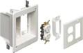 TVBR505K Recessed TV Box 2 Gang Power Low Voltage Complete Kit