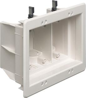 DVFR3 3 Gang Indoor Recessed Box Power or Low Voltage