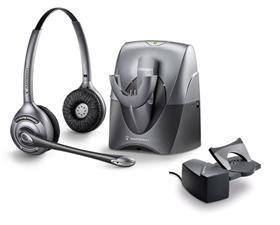 Plantronics CS361N Wireless Headset With HL10 Handset Lifter Combo