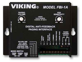 Viking FBI-1A Totally Eliminate Paging Feedback