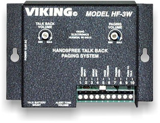 Viking HF3W Allow Employees to Respond to Paging Messages Handsfree