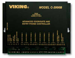 Viking C2000B Advanced Door Gate Entry Phone Controller