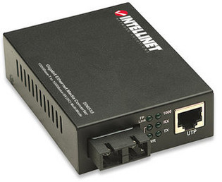 SC to RJ45 Gigabit Ethernet Media Converter Multimode